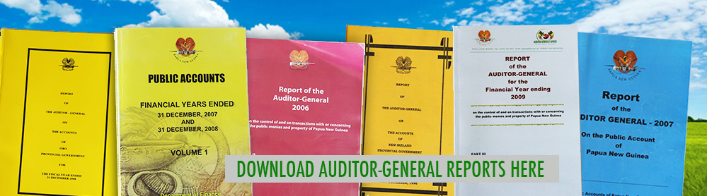 Our Audit Reports & Publications